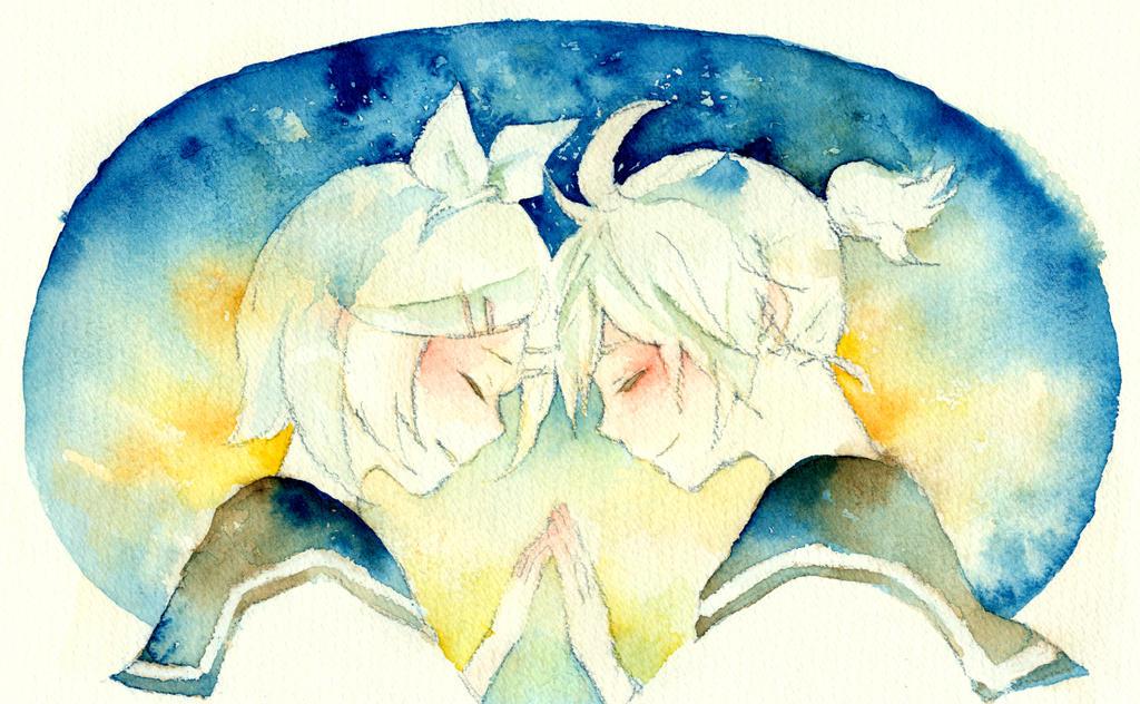 VOCALOID-RIN LEN by zara-midori