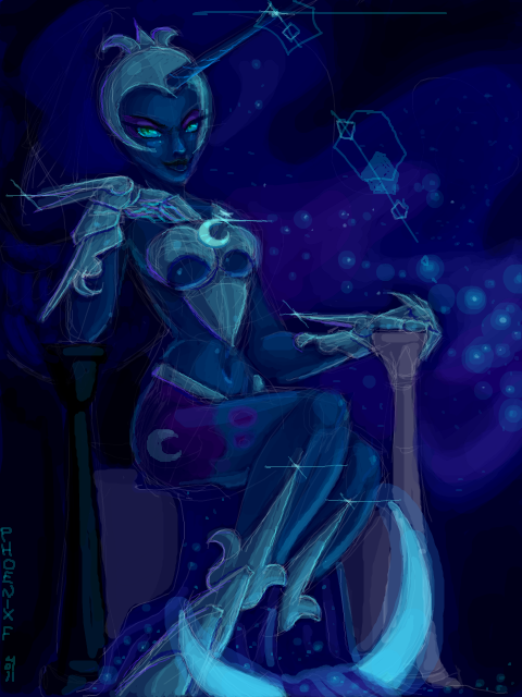 Nightmare Moon Knight.Luna by fantazyme on DeviantArt