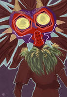 Skull Kid by whispywizbee