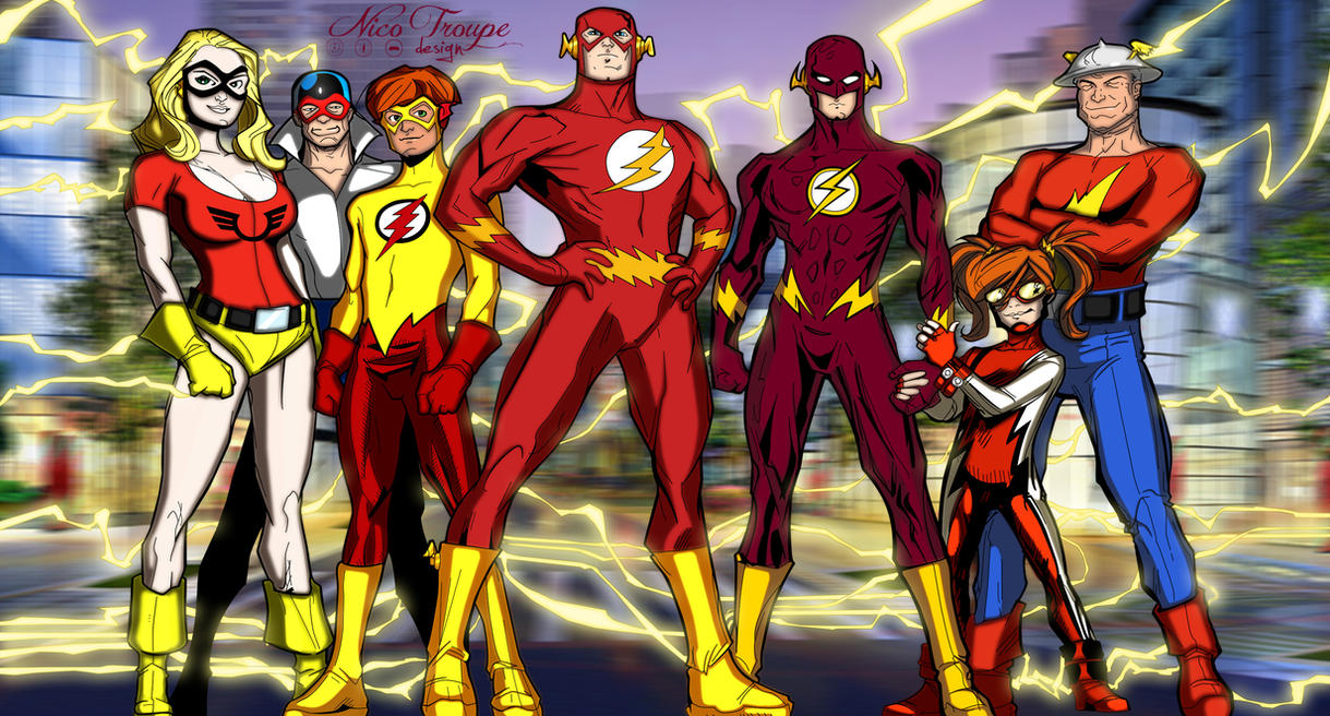 Flash Family by TrouperDNico