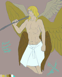 Michael the Archangel Character Design