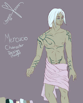 Mercucio Character Design
