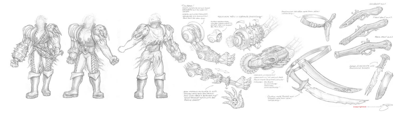 Gnarsh Uniform Design VI by mavartworx