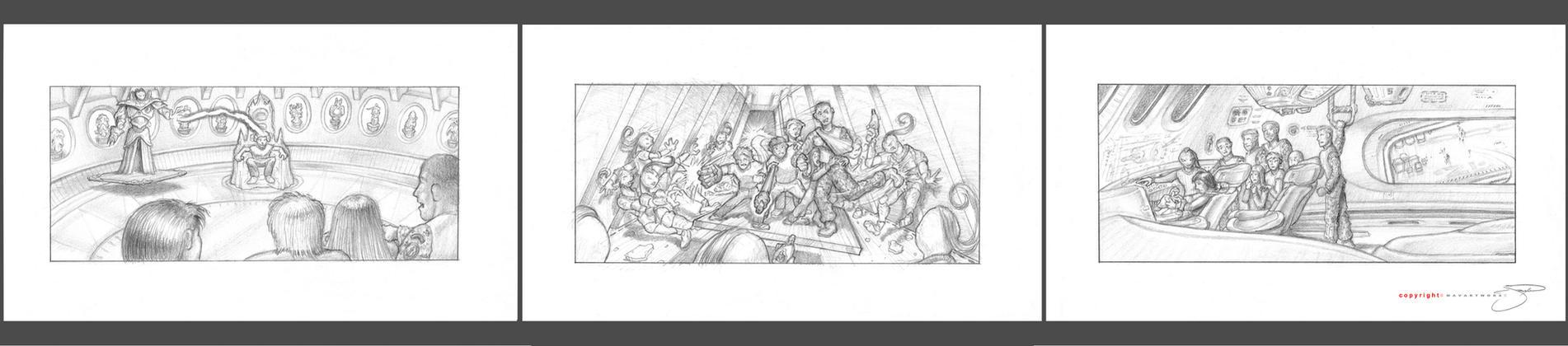 Jr Crew Concept Boards II by mavartworx