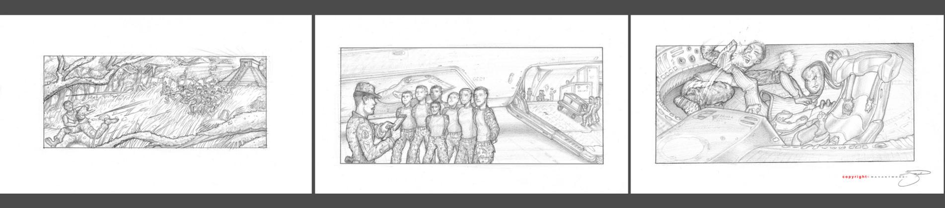 Jr Crew Concept Boards I by mavartworx