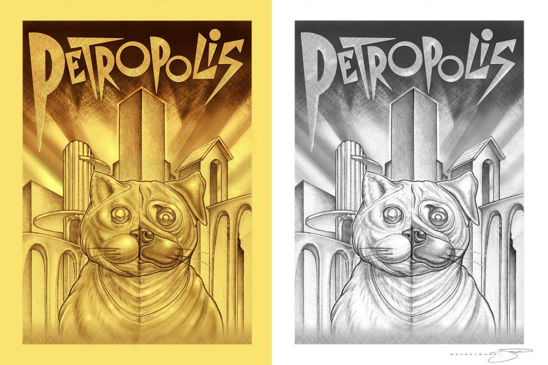 Petropolis Logo I by mavartworx
