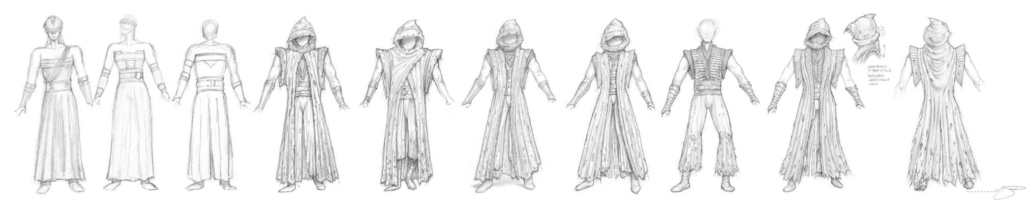 Sith Costume Phases I thru V