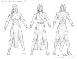 4 Jedi Kie - Costume Designs I
