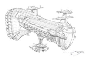 Republic Destroyer - Elecourt IV