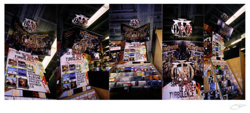 Dream Theater 6 Degrees Display - Tower Records