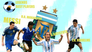 Argentina Best Players By: MaradoooMaradooo