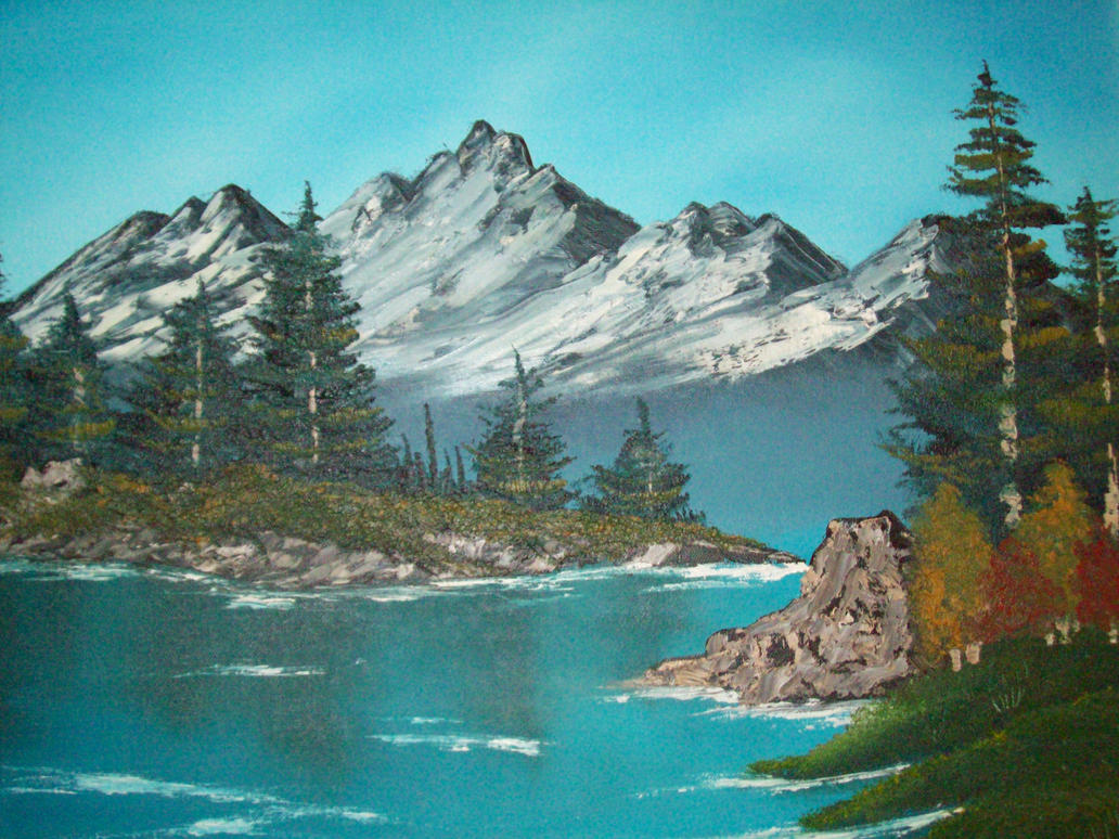 High Quality Bob Ross Painting Images