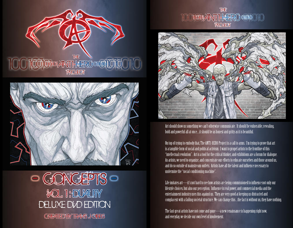 Concepts - Vol.1 : DUALITY by Ant1-Her0-Project