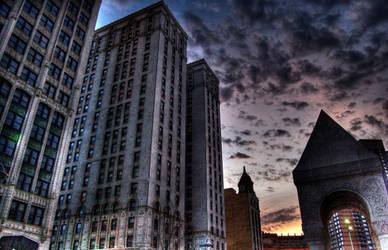 Sunrise Detroit City by 3swtfrk4