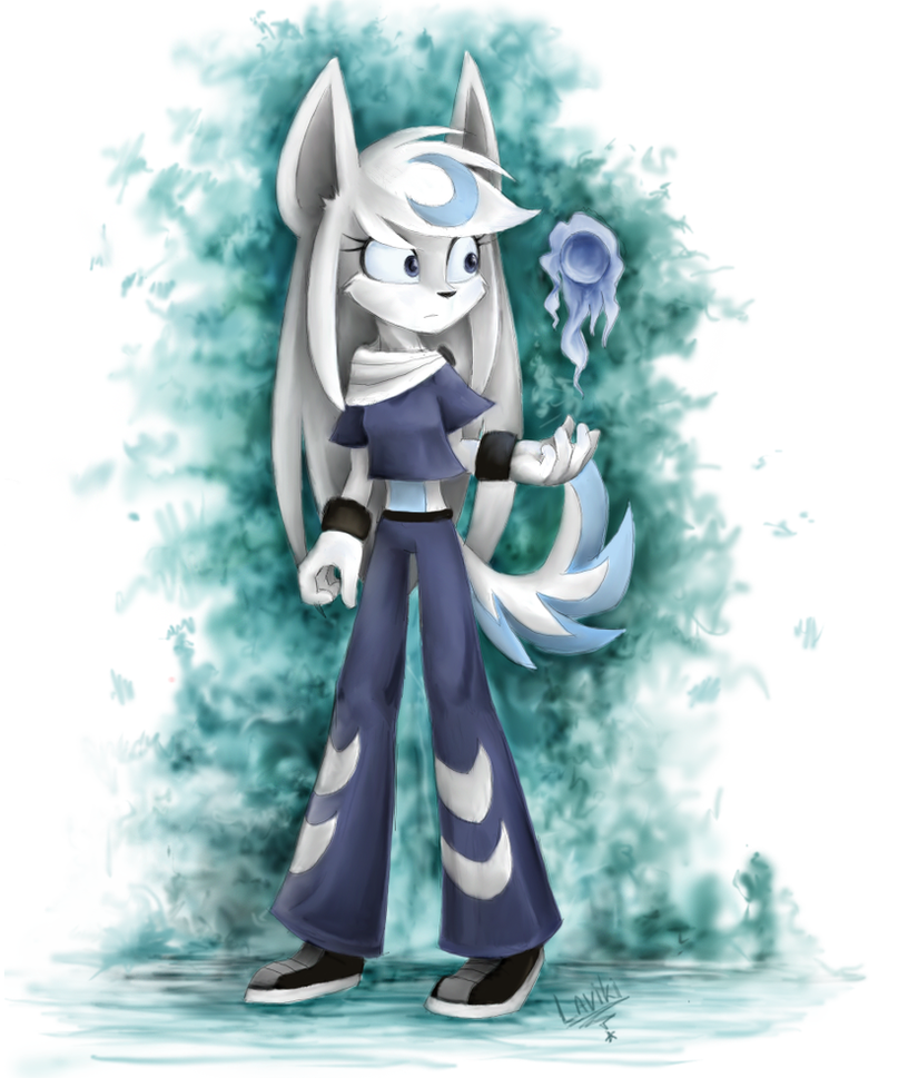 Luna the wolf by Laviki