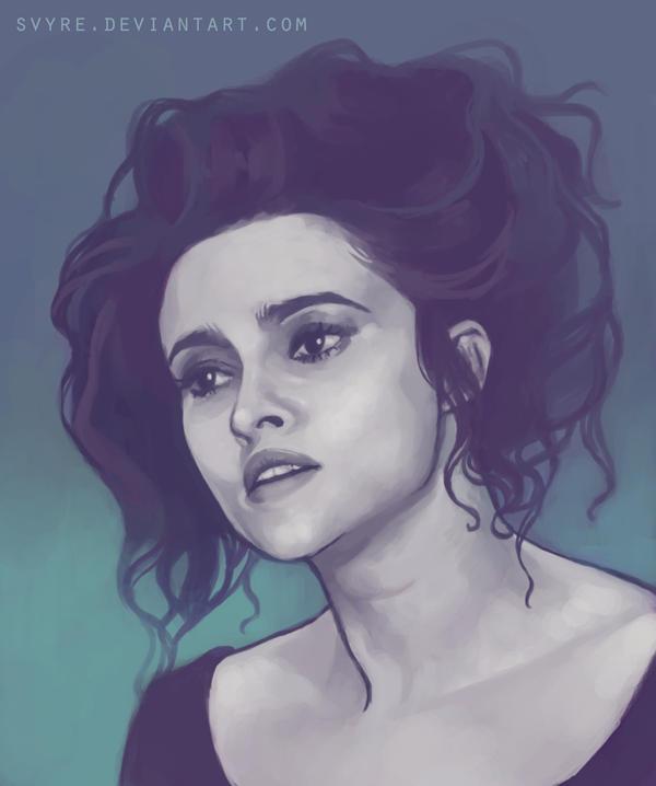 Helena Bonham Carter by svyre