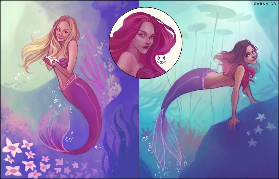 Mermaids! by svyre