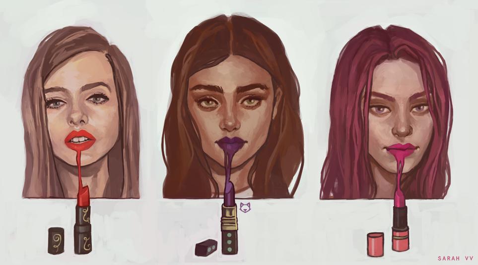 Lipstick by svyre