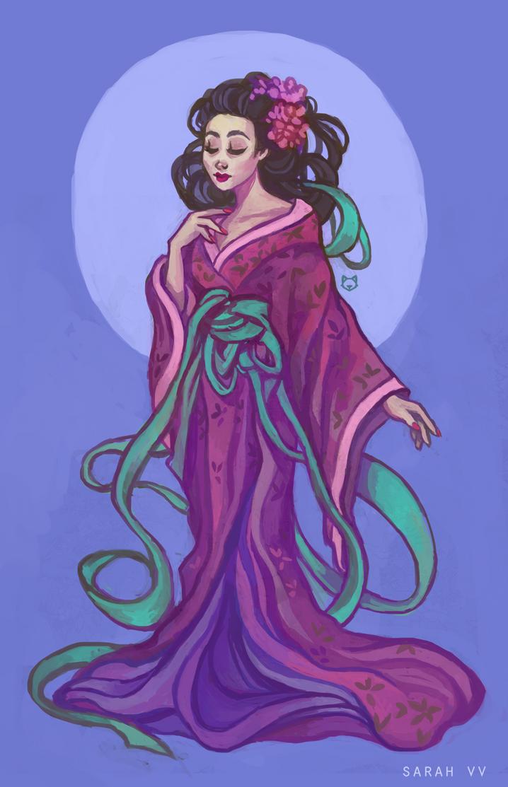 Geisha by svyre