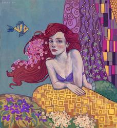 Ariel - Klimt Style Swap by svyre