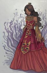 ZW - Fire Lady by svyre
