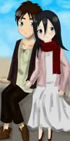 ~ Little Eren X Mikasa ~