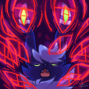 Meowstic used Extrasensory! by ClefdeSoll