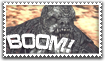 Locust Boomer Stamp by Mylifeisart001