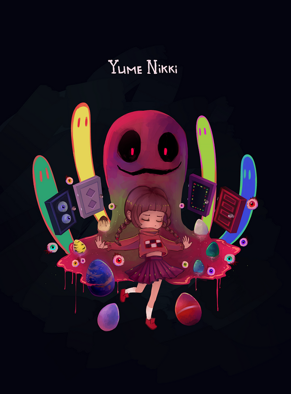 Yume Nikki by Dreaming-Witch