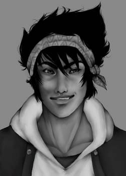 Portrait LIAM bw