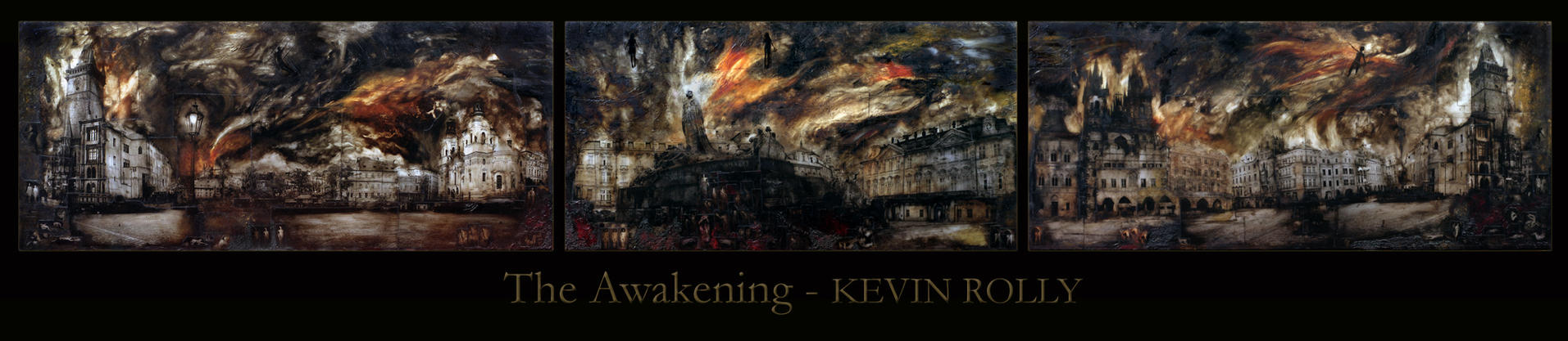 The Awakening - Triptych by kevissimo