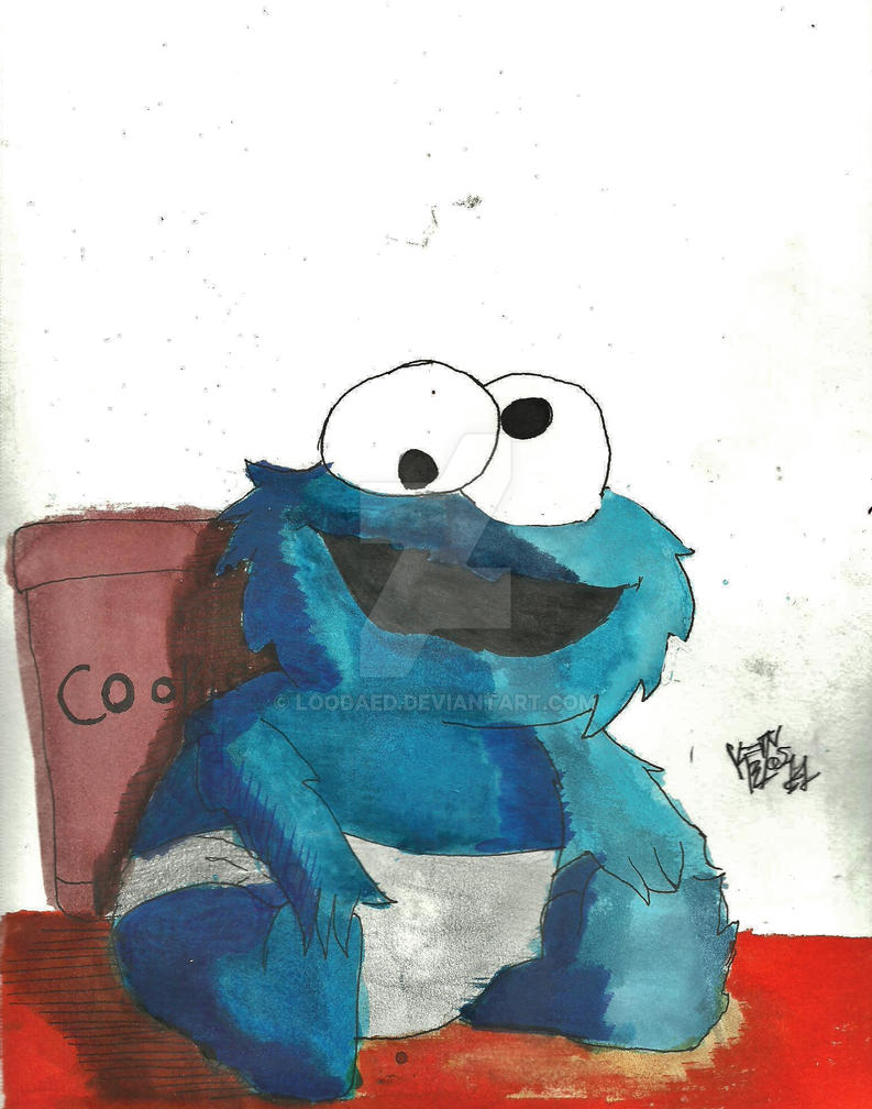 Cookie Monster Baby Room