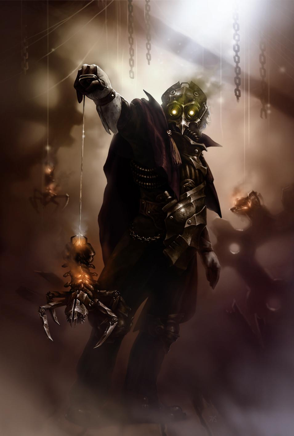 Master weaver by DarkBydloArt
