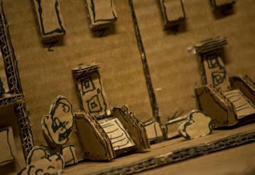 Cardboard City - Photo 1 by BrownBoxStudio