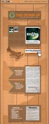 Cardboard Website by BrownBoxStudio