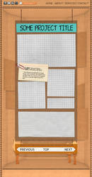 Cardboard Website - Project Page by BrownBoxStudio