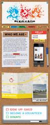 Crafty Website Design - Pinboard by BrownBoxStudio