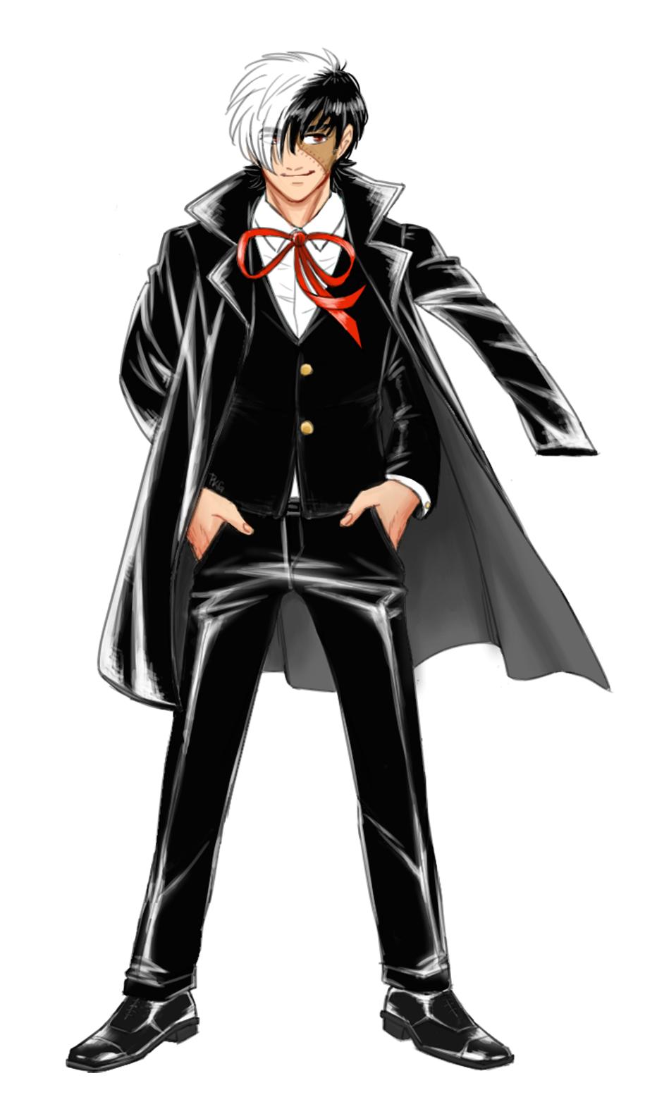 Blackjack anime black queen