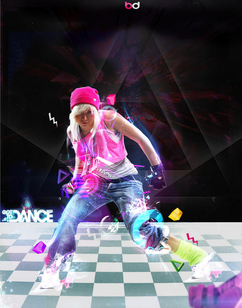 dance girl // wallpaper :db-des1gn on deviantart