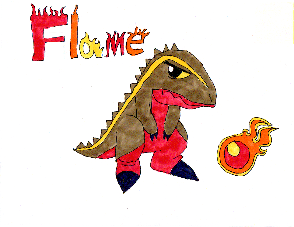 Flame - Siamotyrannus by Aubrie1234 on DeviantArt