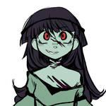 zombie princess sketch