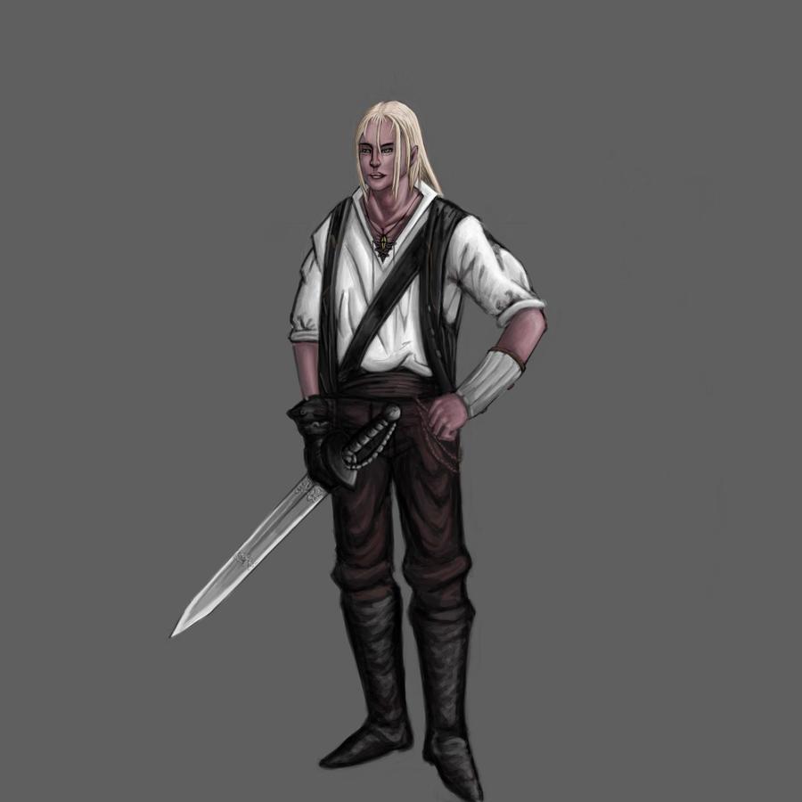 lars - elf warrior