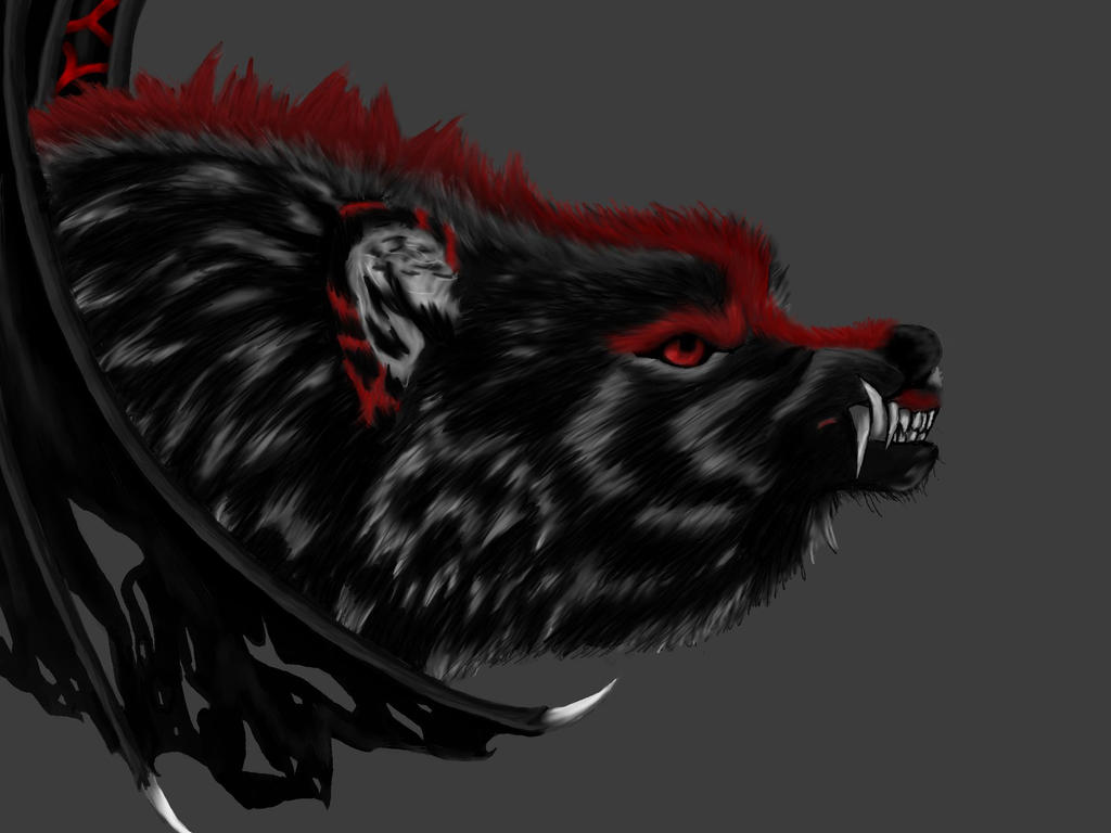 hell wolf by vampireassassin1444 - photo #4