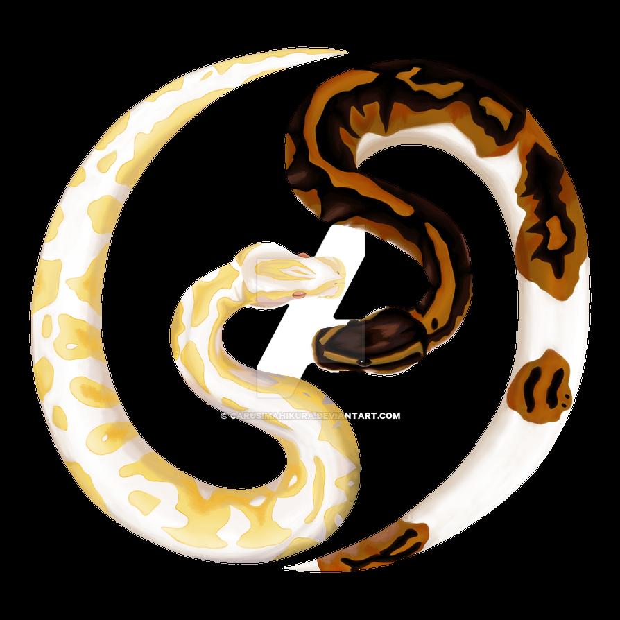 Ball Python Logo by CarusimaHikura on DeviantArt