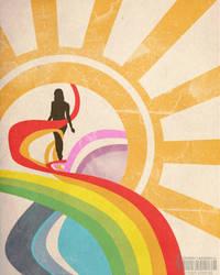 Walking on Colors by ovidiulazarescu