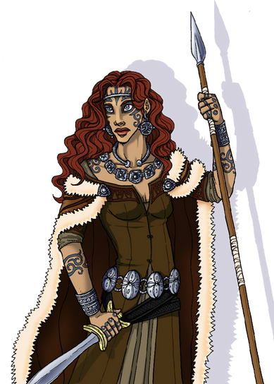 854660848 Queen Boudica -colored by Rapsody on DeviantArt