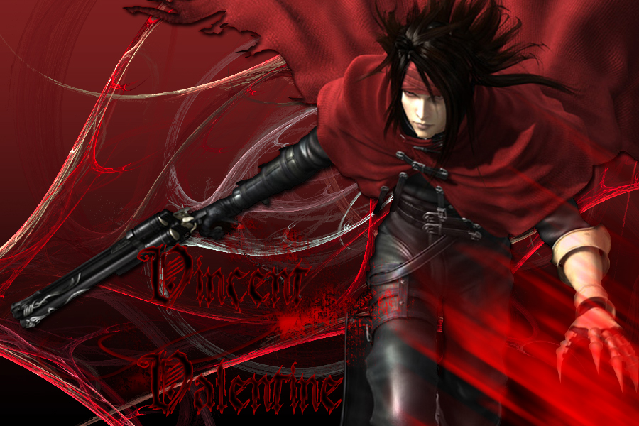 Vincent Valentine by Trent911