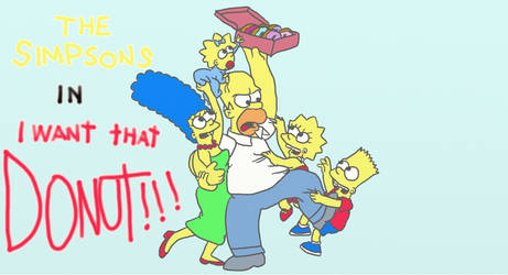 THE SIMPSONS - I Want That DONUT!!!