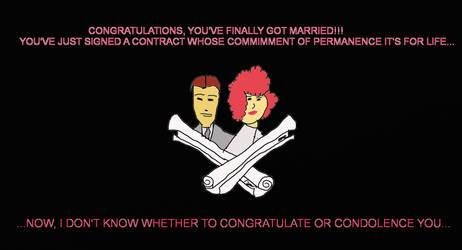 Congratulations... or not