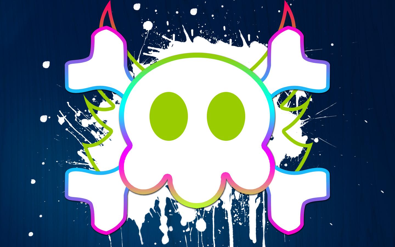 Incredible Neon Skull Wallpaper: Neon Skull By Dennern On DeviantArt